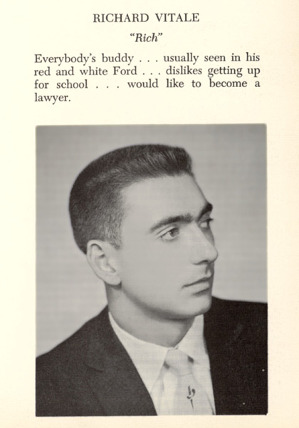 Dick Vitale, East Rutherford (N.J.) High School