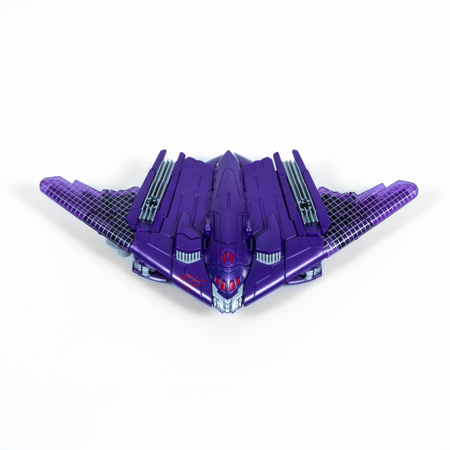 Megatron in jet form