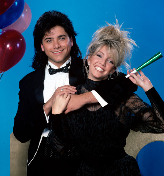Heather Locklear and John Stamos :: Getty Images