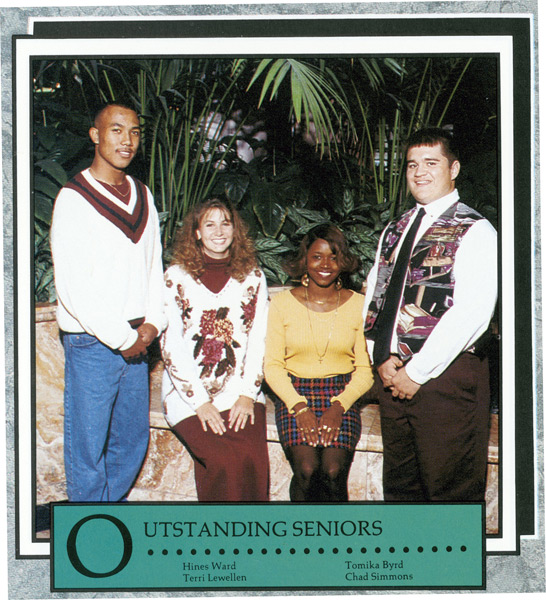 Hines Ward, Class of '94, Forest Park High School (Forest Park, Ga.)