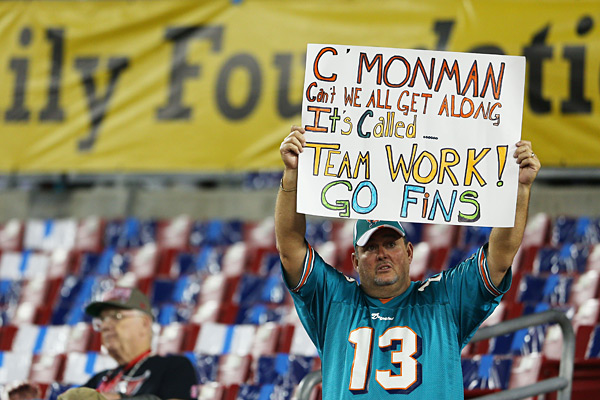 Dolphins Fans :: Mike Ehrmann/Getty Images