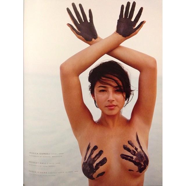 @iamjessicagomes: @si_swimsuit #50yearsofbeautiful my rookie year. Israel Dead Sea.