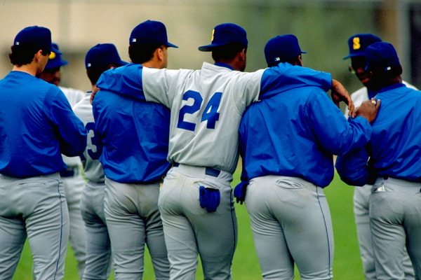 Ken Griffey Jr. and teammates (1992) :: V.J. Lovero/SI