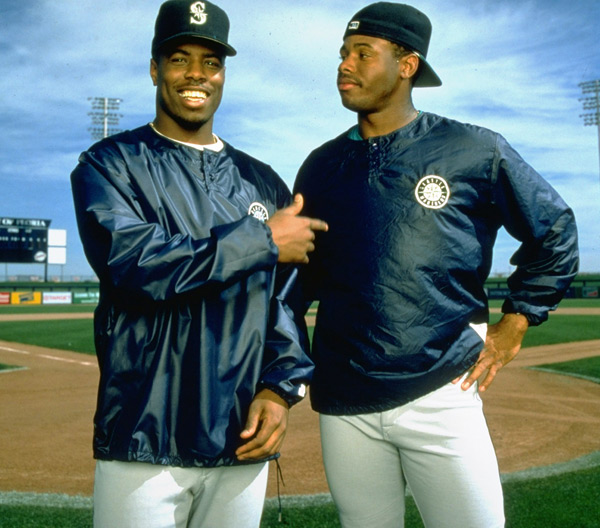 Craig and Ken Griffey Jr. (1994) :: Peter Read Miller/SI