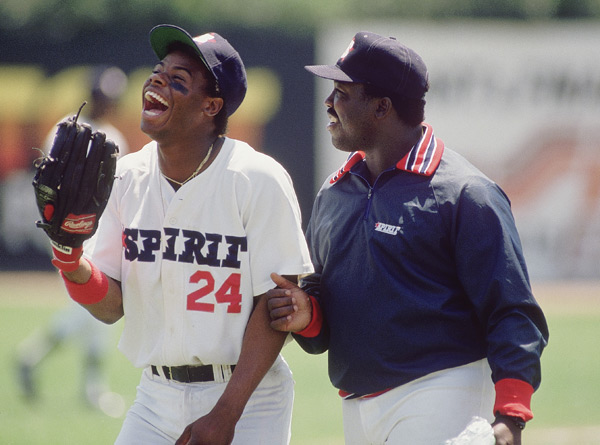 Ken Griffey Sr. and Ken Griffey Jr. (1988) :: V.J. Lovero/SI