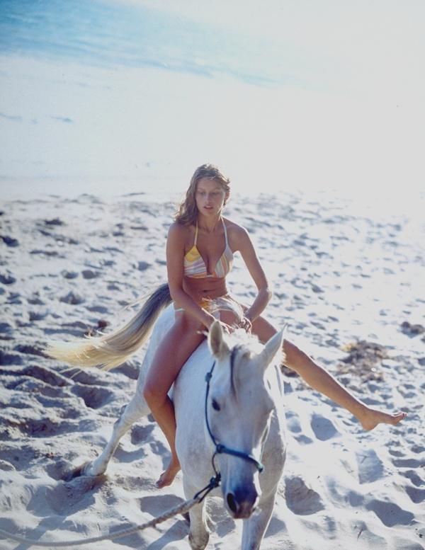 Laetitia Casta, 1997  ::  Dewey Nicks/SI