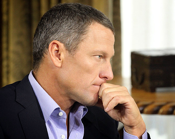 "LANCE ARMSTRONG: Last year, the U.S. Anti-Doping Agency called Armstrong's use of performance-enhancing substances ""a massive fraud now more fully exposed,"" stripped him of his record-seven Tour de France titles, and banned him from cycling for life. If"
