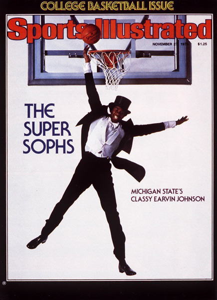 3. Magic Johnson (1978) :: Lane Stewart/SI