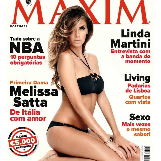 @sattamelissa: Thanku for the amazing cover #maximportugal #maxim #portugal #me #melissasatta #2013