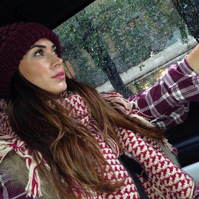@sattamelissa: Around #Milan #rain #me #melissasatta #car