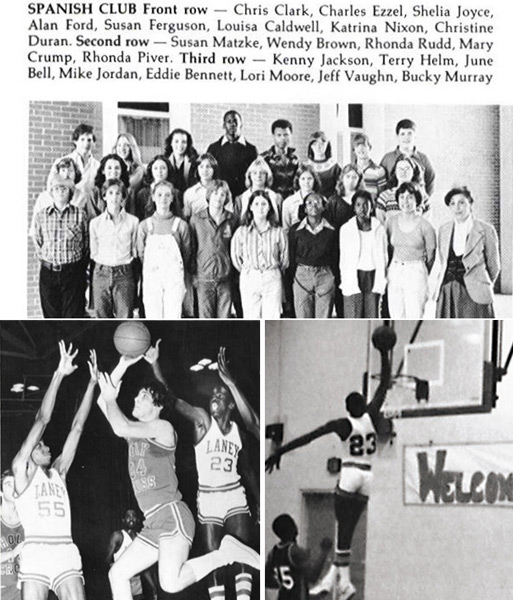 Michael Jordan, Class of '81, Emsley A. Laney High School (Wilmington, NC)