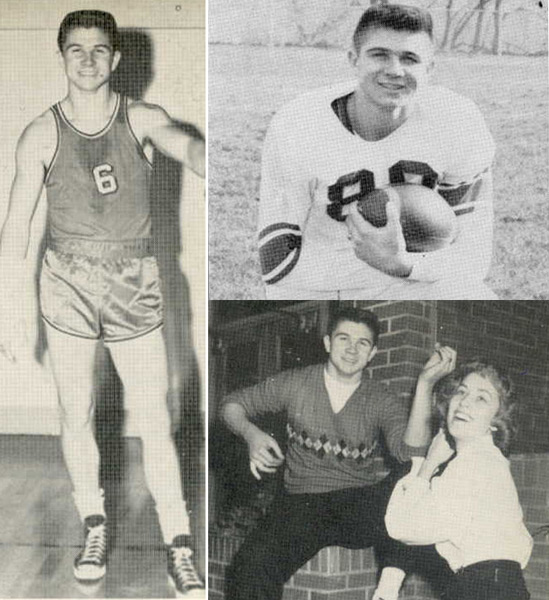 Mike Ditka, Class of '57, Aliquippa High School (Aliquippa, Penn.)