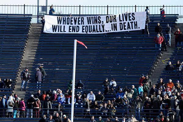 Yale vs. Harvard :: AP Photo/Jessica Hill