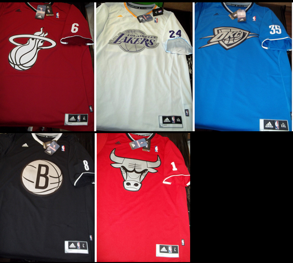 these leaked images reportedly show the nbas christmas day jersey designs uniwatch - Nba Christmas Jerseys 2013