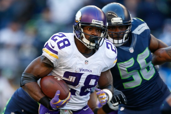 Adrian Peterson :: Getty Images