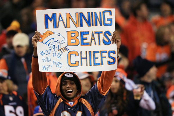 Denver Broncos vs. Kansas City Chiefs :: Doug Pensinger/Getty Images