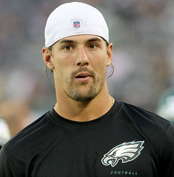"RILEY COOPER: The Eagles receiver hadn't been known for doing anything notable in his NFL career until video of him screaming that he would ""fight every n----- here"" at a Kenny Chesney concert surfaced. Cooper apologized for his remarks and paid an undisc"