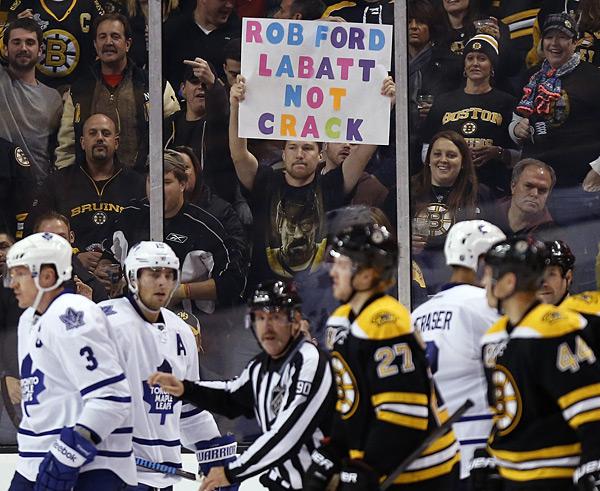 Boston Bruins vs. Dallas Stars :: Michael Dwyer/AP