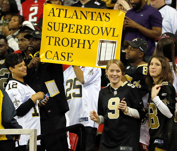 Atlanta Falcons vs. New Orleans Saints :: Kevin C. Cox/Getty Images