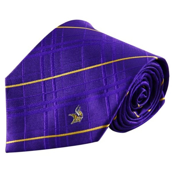 This purple Oxford woven tie features a subtle hint of plaid ($34.95, FansEdge.com)