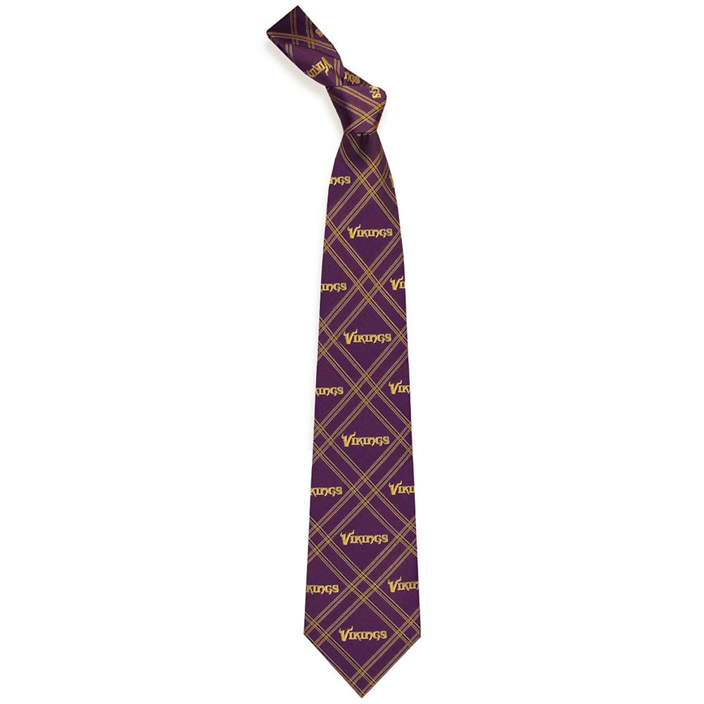 This lightweight plaid polyester tie won't weigh you down ($24.99, Kohls.com)