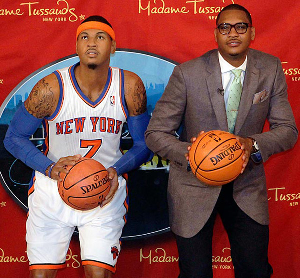 Carmelo Anthony :: Frank Franklin II/AP