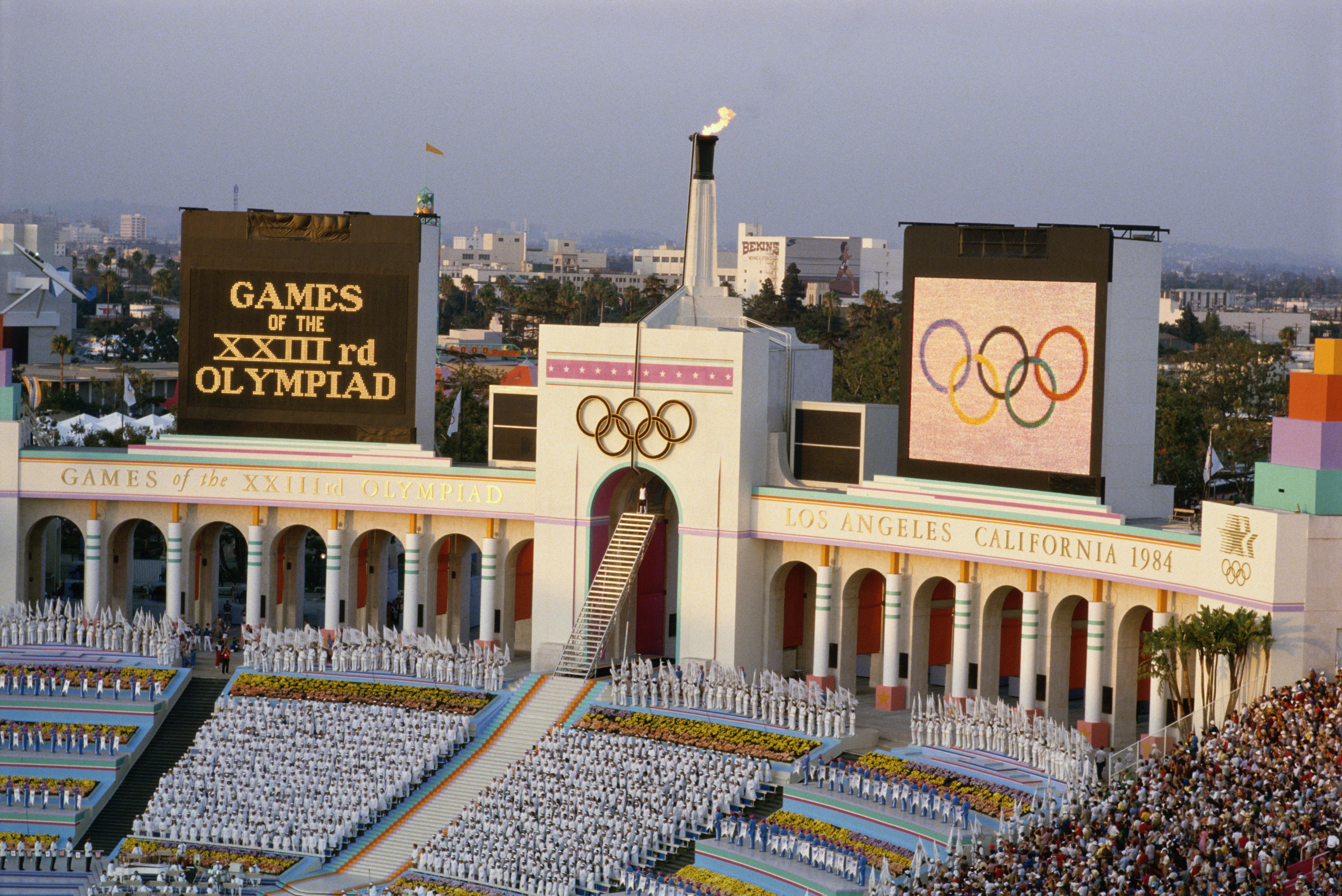 The 1984 Olympics