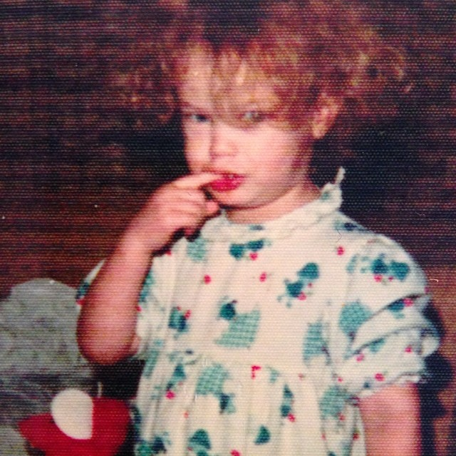 @carolynmurphy: #tbt In my Christmas pajamas, after getting busted for eating a whole pack of Life Savers from my brothers stocking