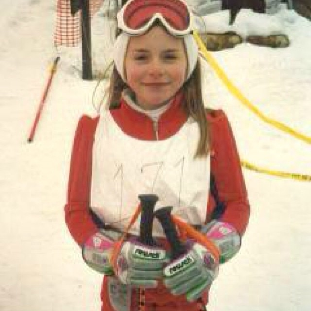 @lindseyvonn: #tbt when my Olympic dreams began :) #dreambig #nevergiveup #sochi2014