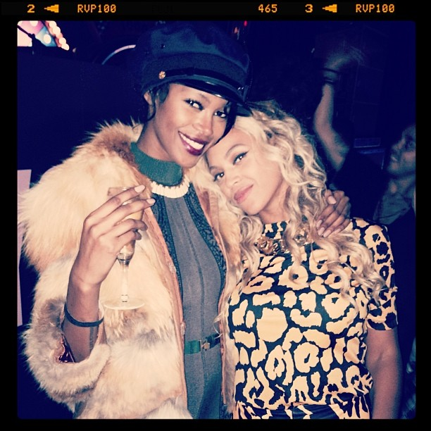 @iamjesswhite: @iamjesswhite: With the queen. @beyonce I'm so proud of you.
