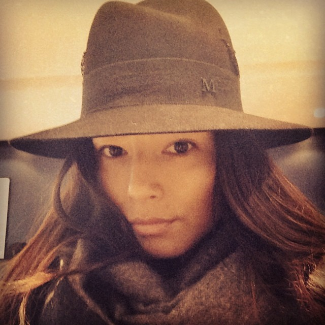 @iamjessicagomes: Getting hat confidence back with @maisonmichel designed by @laetitiacrahay