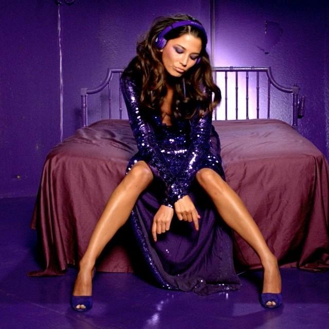 @iamjessicagomes: @beatsbydre video still shot by @jonasakerlund #guccidress. #purple