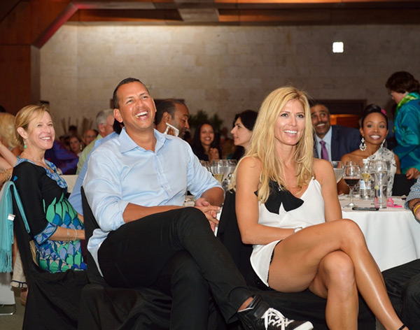 Alex Rodriguez and Torrie Wilson :: Photo Courtesy of  David Ortiz Children's Fund