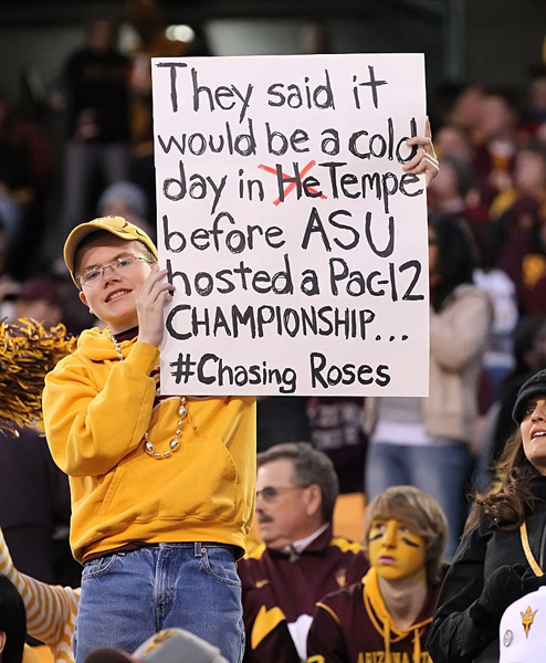 Arizona State vs. Stanford :: Bruce Yeung Photography