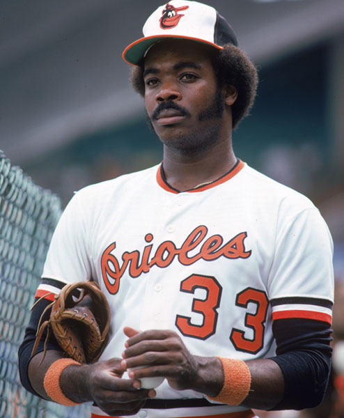 Eddie Murray :: Getty Images