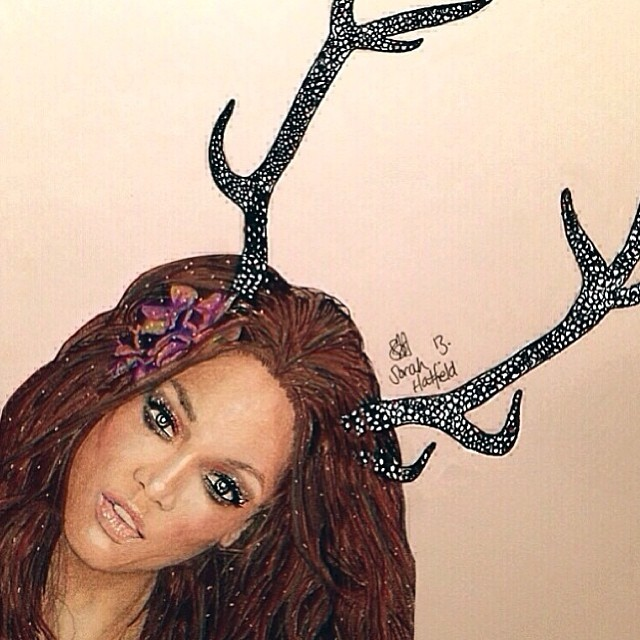 @tyrabanks: Dasher, Dancer, Prancer and TyTy. Where's Rudolph though???