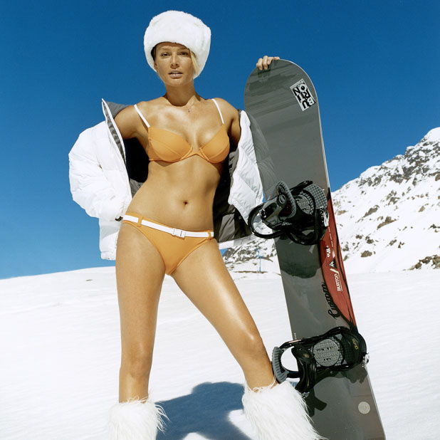 Real snowboarders do it pantsless