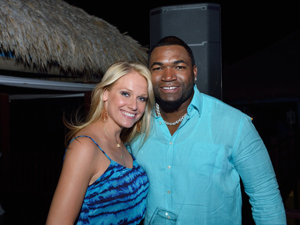 Heidi Watney and David Ortiz :: Photo Courtesy of  David Ortiz Children's Fund