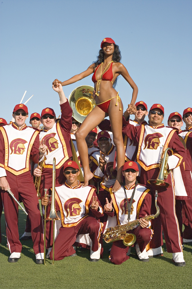 Before she was a signed, sealed, delivered recording artist, Jess White did this 2007 shoot with the Grambling State drum line