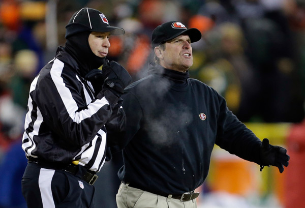 Jim Harbaugh :: AP