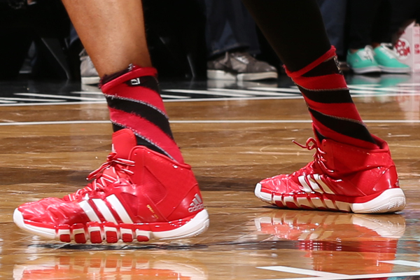 Joakim Noah, Bulls: Adidas. (David Sherman/Getty Images)