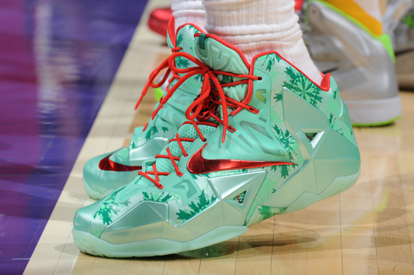 LeBron James, Heat: Nike. (Andrew D. Bernstein/Getty Images)