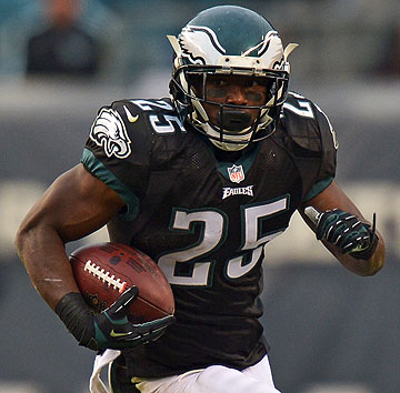 LeSean McCoy :: Drew Hallowell/Philadelphia Eagles/Getty Images
