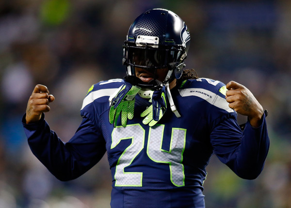 Marshawn Lynch :: Jonathan Ferrey/Getty Images