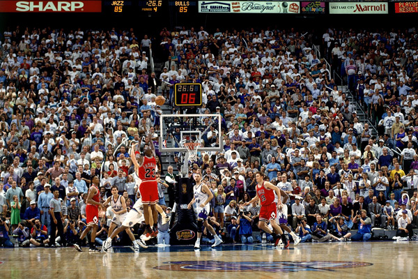 Michael Jordan :: Fernando Medina/NBAE via Getty Images