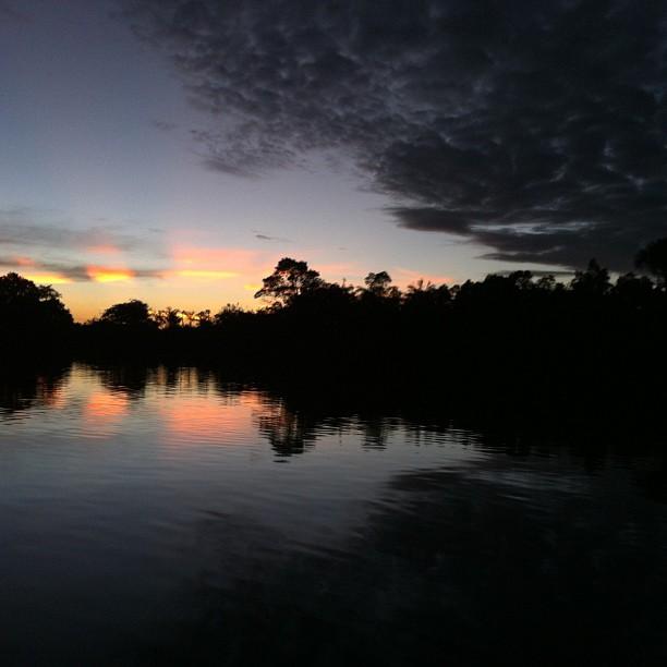 6/7 @ 7:33 pm: Electric sunrise