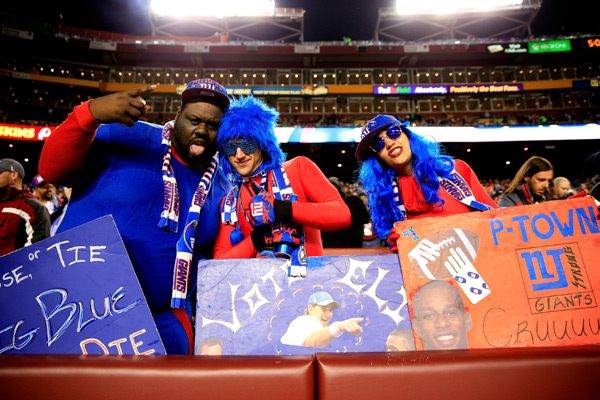 New York Giants vs.  Washington Redskins :: Rob Carr/Getty Images