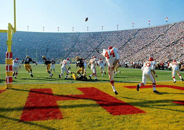 Packers vs. Chiefs (Super Bowl I, 1967) :: Neil Leifer/SI