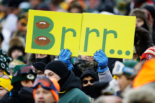 Packers fan :: AP