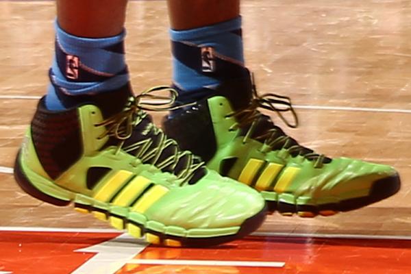 Serge Ibaka, Thunder: Adidas. (Nathaniel S. Butler/Getty Images)